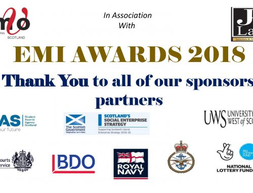 Thank you to our EMIA sponsors and partners!