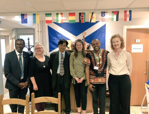 Cabinet Secretary Aileen Campbell's visit to The Heart of Africa Café